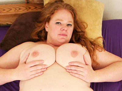 Nip pinching plumper.   Blonde plumper pinching her pink nips while getting fucked. Click here to view this gallery.