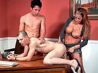 Bisexual Porn - Ass Plugged Bisexuals