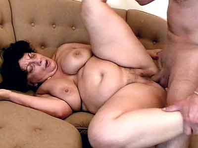 ... her pussy full of cock Click here to watch the movies Mature BBW sucking ...