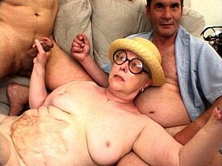 Granny Porn - Granny Gang Bang