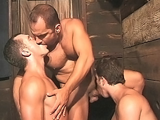 Gay Orgy GroupSex : dick Gagged Gays!