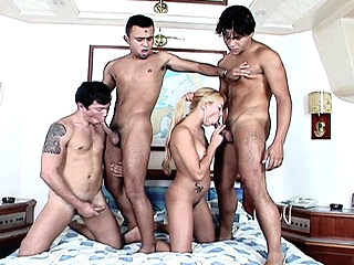 Mmmf bisexual foursome