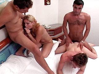 bi foursome porn