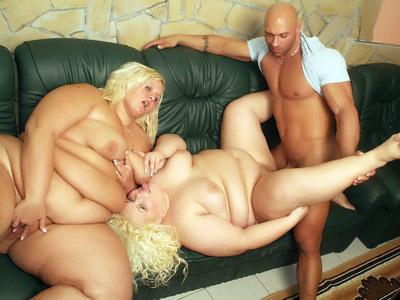 Big Ass Blonde Threesome