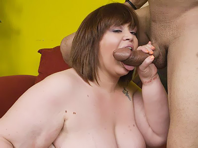 BBW Tits : large dick Crammed supersize women!