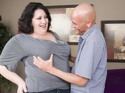 BBW Tits : Matalla Hot Fatty Poking!