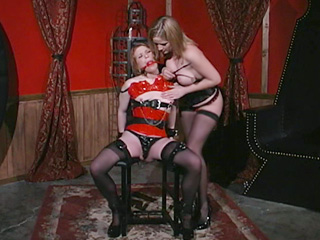 Webcam Strip : bdsm Gagging Live!