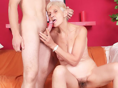 ngf 320 Dick Stuffed Granny Irene