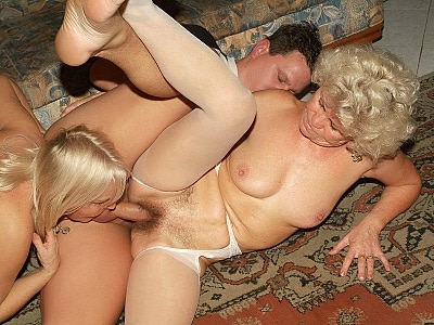 Granny Fucking : Grannies Sharing cocks!