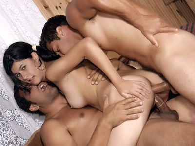 latina threesome