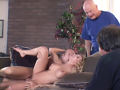 Watch My Wife : Blonde housewife Does Anal!