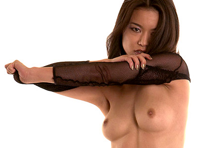 Stockinged hot asian. Hot asian stripping down to her exciting black stockings. Check it out for more preview pictures!
