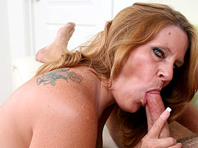 Cock filled mature.   Mature blonde plumper filling her mouth with cock. Click here to view this gallery.