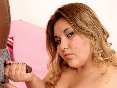 Interracial plumper pounding. Blonde bbw loving some heavy black meat. Click here to see the photos.