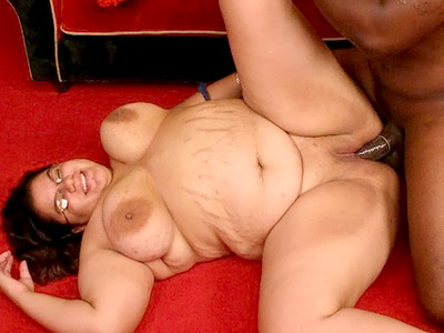 Black dick munching bbw.   nerdy fatty gives a black stud a blowjob. Check it out for more preview pictures!