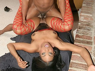 Backside drilled ebony dream. Hot black Dream gulps down a load of cumshot after she has her tight black butt drilled. Download the free photos now!