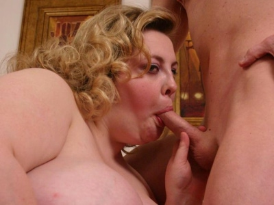 Bbw pussy thrashing. Hot blonde plumper Holli shows bbw loving stud her huge boobs before letting him thrash her pussy with cock. Click here for more pictures.