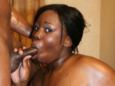 Messy black bbw sex. Black BBW model covers her anus with oil and gets nasty ejaculate facial from a black prick. Click here for more pictures.