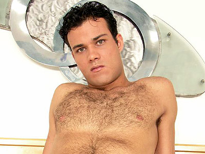Latino Gay Cock Rubbing. Handsome gay Latino strips off his clothes in front ...
