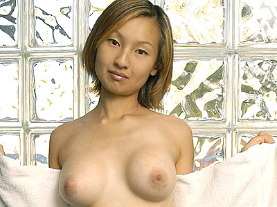 Horny asian shower tease.   Sultry Asian model posing in the shower room and playing with her well rounded globes. Click here for more photos!