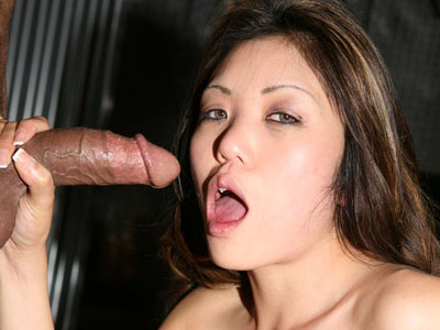 Cum blasted asian. Hot Asian Kaiya Lynn locks her eye on the package while slurping it and gets fresh wad of cumshot facial. Click here to view this gallery.