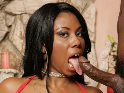 Ebony gets titty have sexual intercourse. Candice Von gives an excellent cock sucking and makes pleasant use of her huge tits to drain a cock. Download the free photos now!