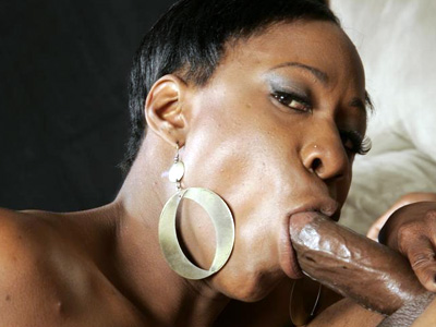 Ebony mouthing a big cock. Appealing ebony Diva Devine shows off her phat black ass and blow off a juicy black shaft. Click here for more pictures.