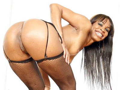 Black Cuties : ebony Vanessa Does Anal!