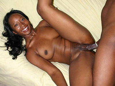 Cunt drilled black. Appealing ebony lifting her leg up for a pussy drilling. Click here to see the photos.