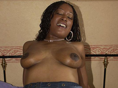 Bedroom banged black babe. Black babe having her tight vagina filled in the bedroom. Check out for more high-res photos of this gallery!
