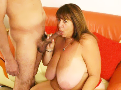 Fat milf mercy. Sex starved fatty Mercy on her knees slurping a penish before she gets used up in different positions. Click here for more pictures.