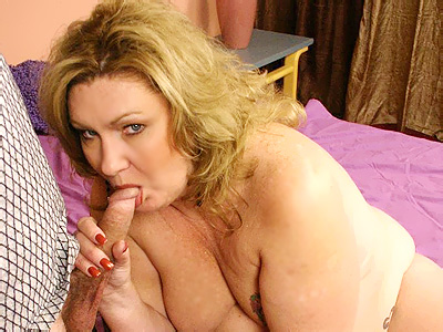 Blonde milf cc splooged. BBW CC sizing up a cock with her mouth before she jumps on top of it and takes it in her snatch. Click here for more pictures.