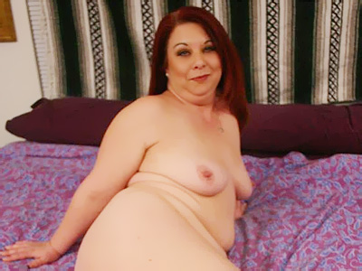 Mature redhead bbw nina. Photos of a fat mature redhead named Nina being libidinous and stripping off her clothes for the camera. Click here for more photos!