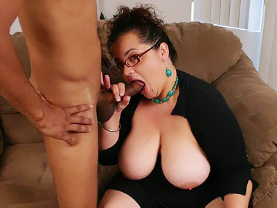 BBW MILF Shianna gets paired with a black guy and gets hardcore doggy style ...