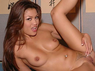 Large tits asian. Sweet Asian Charmane Star shows off her big natural racks and rides on top of a stiff cock. Click here for the gallery.