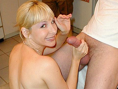 Huge penish tit have sexual intercourse. Lustful babe admiring a voluminous cock with her mouth and cramming it between her voluminous tits. Download the free photos now!