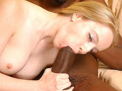 Large dick crammed blonde. Penish greedy blonde get satisfied by a excited black hunk with a monster sized cock. Click here to see the photos.
