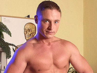 Gay Big Dick : Hard Muscled Gay Strip Off!