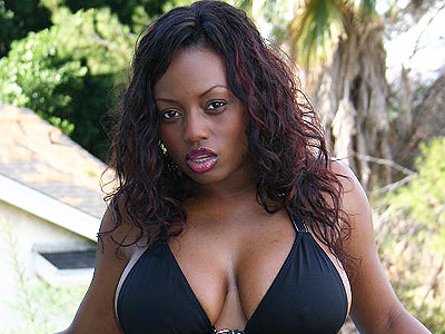 Busty ebony jada fire. Smoking hot ebony model Jada Fire does a striptease and gets threesome penish stuffing from two guys. Click here to see the photos.