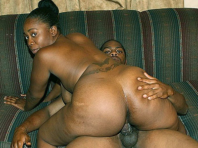 Black Cuties : ebony Keisha ass Cramming!