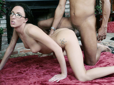 Wild interracial sex marathon. Horny chick Katrina Isis went for a wild interracial fuckfest and got her holes stuffed with a monster cock. Click here to see the photos.
