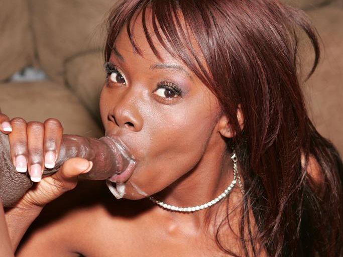Nasty cock sucking porn. Ashley Brooks got her ebony cooter have sex and rewards her stud with a gulp in this ejaculate movie. Click here to see the photos.