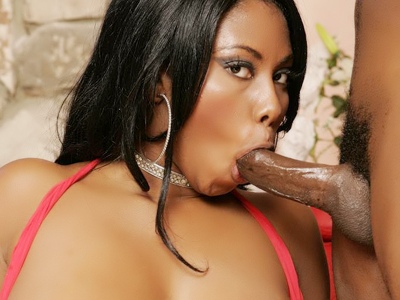 Wild cumshot movie. Busty black lady Candice Von gives a sinful sucks and gets screwed violent in this cumshot porn flick. Click here for the gallery.