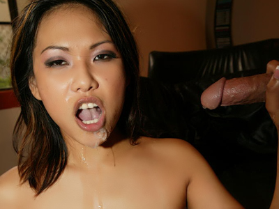 Messy facial cumshot. Suc girl Kaiya Lynn gets make love massive and receives a creamy facial ejaculate after a libidinous blowjob. Click here to see the photos.
