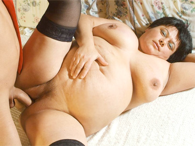 Mature fatty gulp. Lascivious mature BBW Belane working a stiff wang with her lips and taking it in her gash. Click here for the gallery.
