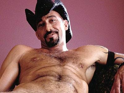 Gay Bears Hairy : Cowboy hairy men Albert Masturbating!