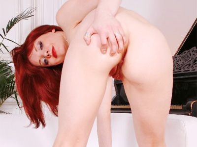Hot pornstar booty tease. Pleasant redhead bares it all in full HD videos to show off her smoking hot booty and wet cunt. Download the free photos now!