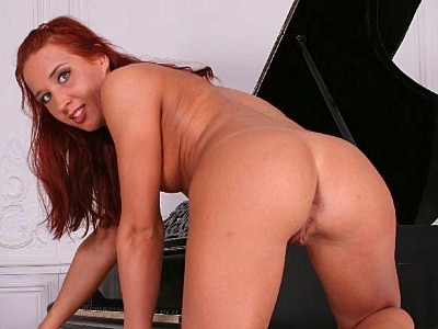 Hot ass pornstar solo. Beautiful redhead pornstar bares it all to show off her wet cunt and tight anal in full HD. Click here for more photos!