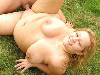 Outdoor have sex fatty helga. Blonde fatty Helga takes control and rides out a huge tool on the grass outdoors. Craving for more Enter here!