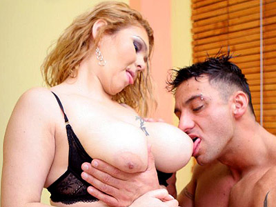 Boob make love blonde bbw luana. Blonde BBW Luana pulls her boobs out of her bra exposing her tattoo then getting fucked. Download the free photos now!
